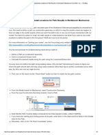Linearized Stress – Using Nodal Locatio...Echanical 14.5 _ PADT, Inc. – the Blog
