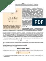 Resumen Corriente Eléctrica y Circuitos Eléctricos