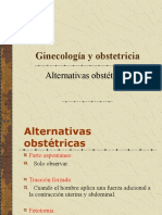 11- Alternativas obstétricas