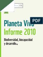 Informe Planeta Vivo 2010