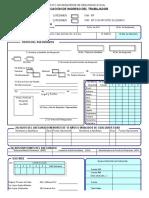 015_2 Formulario - Inscripcion e Ingreso Del Trabajador (Frente)2005!11!16