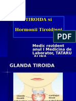 Hormonii Tiroidieni