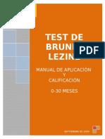 test brunet lezine para