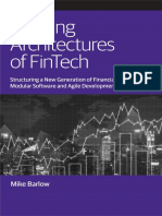Evolving Architectures of Fintech
