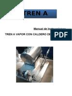 5. Manual de Instrucciones Tren