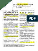 Optimisation Method (1)