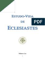 21. Estudo-Vida de Eclesiastes