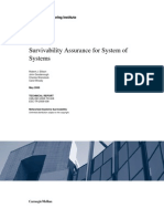 Survivability Assurance for System of Systems