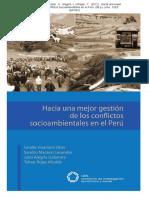 Hacia Una Mejor Gestion de Conflictos Sociales