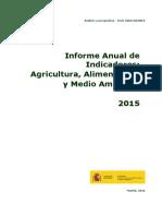 Informe MAGRAMA Sobre Industria Alimentaria 2015