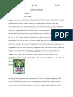 economy text set