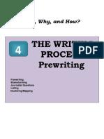 4 Pre Writing