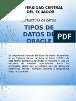 TiposDeDatosDeOracle