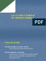 1.1b Clases y Efectos de La Erosión