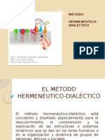El Método Hermenéutico-dialéctico Final