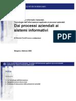 Tecnologie Dell'Informazione Applicate Ai Processi Aziendali