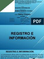 Presentacion Presente y Futuro i Unah Registro e Informacion
