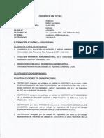 Currículum Ing. Anderson Núñez Fernandez