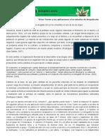 Víctor Turner y Sus Aplicaciones a Los Estudios de Drogadicción