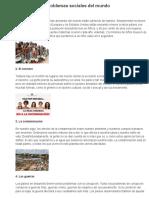 10 Principales Problemas Sociales Del Mundo