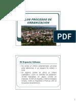 LOS PROCESOS DE URBANIZACION Principales Aspectos y Problemáticas.pdf