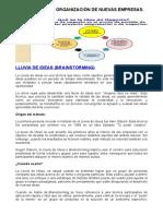 Ejercicio Planificacion y Organizacion de Nuevas Empresas