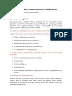 Derecho Administrativo Municipalidades Cuestionario