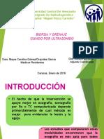 Biopsia y Drenaje Guiada Por Ultrasonido Mayra Gomez