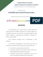 REFLEXÃO Educação InovacionalMANÉ
