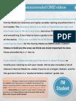 FMStudent OME VideoGuideForFM