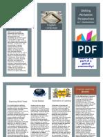 brochure interdisciplinary