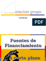 financiamieento a corto plazo