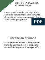 Prevencion de La Diabetes Mellitus Tipo Ll