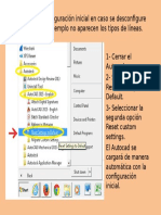Resetear Autocad-Configuracion Inicial