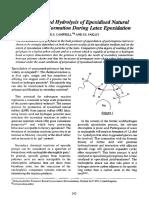 Campbell 1995 Acid-catalysed Hydrolysis Epoxidised