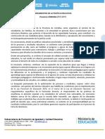 Lineamientos de La Politica Ed 2016 2019