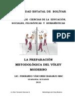 Modulo La Preparacion Metodologica Del Voley Moderno