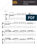 Técnica Mute 2 Vozes