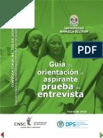 Guia Aspirantes Entrevista DPS