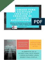 Creación de guiones para audiovisuales. De Aristóteles a Guillermo Arteaga