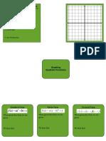 quad func  graph organizer