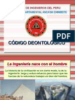 Codigodeontologico2012cip 31 Ene 14 140625212035 Phpapp02