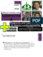 diagnosis and management of dilated cardiomyopathy