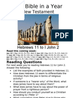Bible in a Year 31 NT Hebrews 11 to I John 2