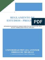 Reglamento Estudios
