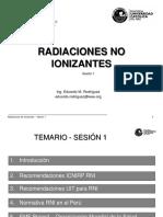 1. Radiaciones No Ionizantes Marco Tecnico