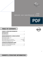 Nissan 2009 Sentra Automobile User manual.pdf