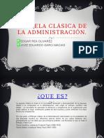 Escuela Clásica de La Administración