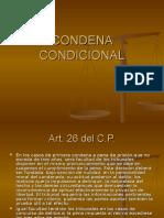CONDENA-CONDICIONAL