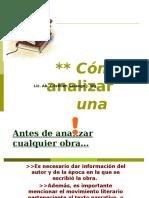 ANÁLISIS LITERARIO.